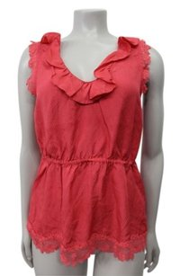 Odille Anthropologie Top strawberry