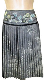 Oilily Pleated W Skirt Gray