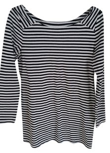 Old Navy Maternity Striped Boat Neck Top