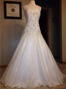 Oleg Cassini Never Worn! Romantic! Wedding Dress Wedding Dress
