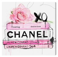 The Oliver Gal Artist Co. Oliver Gal Dripping Rose Books (Canvas) 20X20