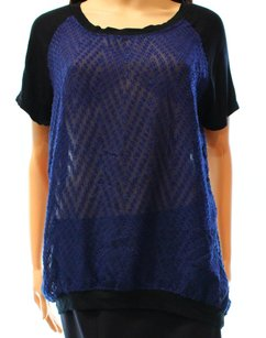 Olivia Moon 100% Polyester Knit Top