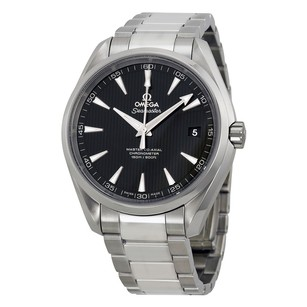 Omega Aqua Terra Automatic Black Dial Stainless Steel Men's Watch
