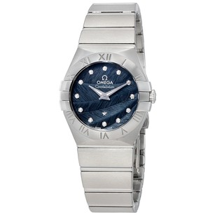 Omega Constellation Blue Dial Ladies Watch 123.10.27.60.53.001