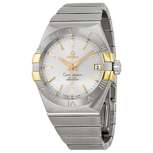 Omega Constellation Co-Axial Automatic Stainless Yellow Gold Men's Watch