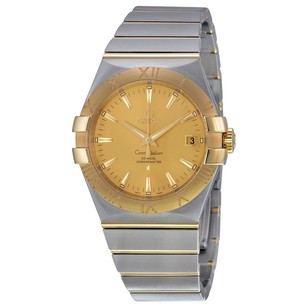 Omega Constellation Two Tone Men's Watch OM12320352008001