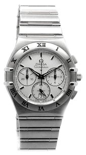 Omega OMEGA 1542.30.00 CONSTELLATION MENS STAINLESS STEEL CHRONOGRAPH QUARTZ WATCH