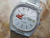 Omega Omega Seamaster C1020 Vintage Pluto Dog Stainless Swiss Automatic Watch 1970 H9