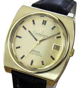 Omega Omega Constellation Swiss Made Chronometer C1960s Gold Capped Mens Watch Mx4