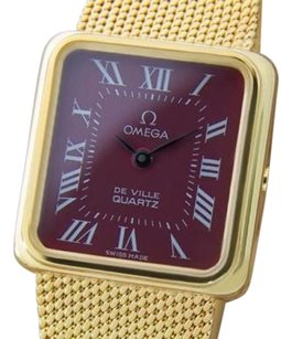 Omega Omega Deville Accuset Ladies 1980 Luxury Swiss Made Gold Plated Dress Watch La12