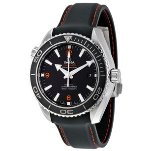 Omega Seamaster Planet Ocean Black Rubber Men's Watch OM23232462101005