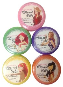 1 Piece Kleancolor Wizard Acetone-Free Nail Polish Remover Pads