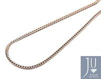 Other 10k Rose Gold 1.8mm Wide Closed Franco Box Link From 20-38 Inch Chain Necklace