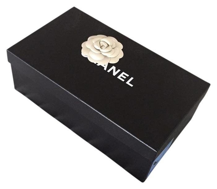 CHANEL classic shoe box.