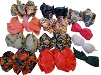 12 Multi Hair Bow Clips
