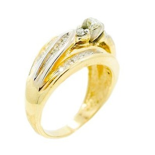 Other 14k Yellow Gold 0.43ct Diamond Ring 7.2 Grams Ring