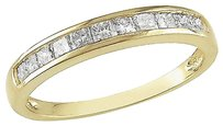Other 14k Yellow Gold 12 Ct Princess Diamond Tw Anniversary Ring Gh I2-i3