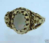 Other 14k Yellow Gold Ladies Opal Ring