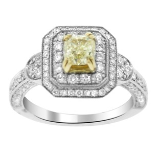 Other 2.44ct Diamond Two Tone Gold Engagement Ring 5-8