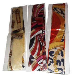 Other 3 Pc Silk Multi Colored Twillys