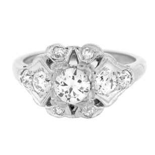 Other 5.60 Dwt Platinum 1.20ct Diamond Unique Engagement Ring