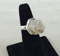 Other 925 Sterling Silver Spiked Crystal Ring