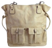 Other Creative Memories Cream Color Women Wmultiple Pockets Tote in Beige