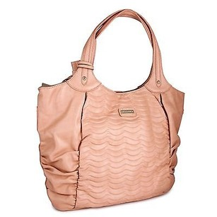 Other Miadora Natasha Faux Bookbag Tote in Blush