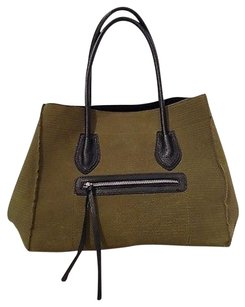 Other Braintropy Canvas Black Inserts K Tote in Green