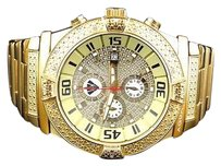 Aqua Master Jojo Joe Rodeo Yellow Gold Mm W345 Genuine Diamond Watch