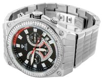 Other Aqua Master Mens Watch Stainless Steel Diamond Joe Rodeo Jojo Jojino Kc Look
