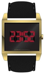 Other Armani Exchange Leather Watch Ax2220