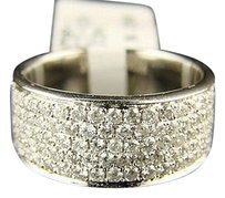 14k Mens Ladies Si Genuine Diamond Wedding Band Ring 1.15 Ct
