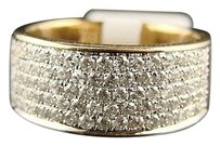 14k Mens Ladies Si Diamond Wedding Band Ring 1.15 Ctw