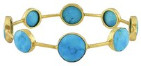Other Sterling Silver Turquoise Bracelet 7 32 Ct