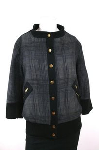 Madchen Anthropologie Studded Black, gray Jacket