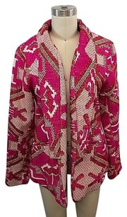 Other Chloe Indian Blanket Embroidered Open Jacket Coat