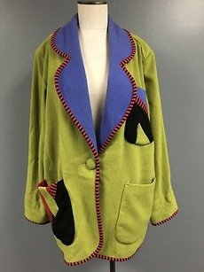 Canvasbacks Multi Color Wool Multi-Color Jacket