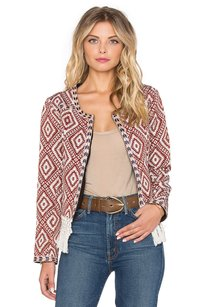 Tularosa White Burnt Red Jacket