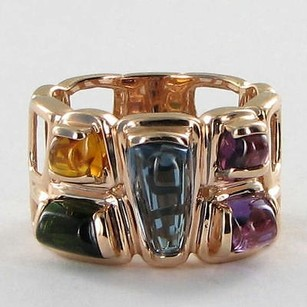 Other Bellarri Ring Marquesa Citrine Amethyst Tourmaline Topaz 14k Rose Gold
