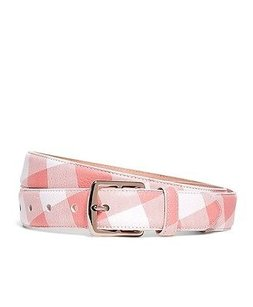 Other Black Fleece Brooks Brothers Gingham Belt Details Pink Bb2
