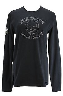 Mb Side 11m231 Graphic T Shirt Black