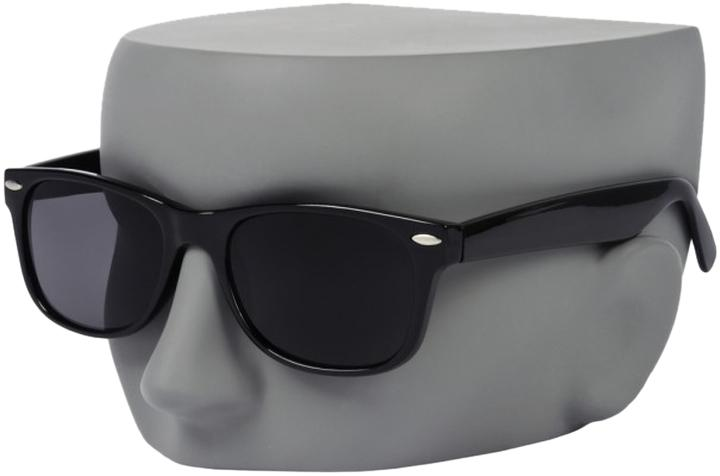 sunglasses like ray ban wayfarer  other black plastic frame black lenses sunglasses wayfarer like ray ban