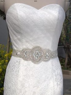 Bridal Sash Color Ivory