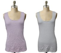 Other Wyton Knit Roma Pink White Sleeveless Var Top