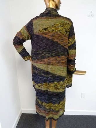 Carol Horn Stretch Knit 3pc Skirt Suit Usa #13818574 - Skirt Suits low-cost