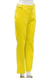 Other Marina Rinaldi Vogage Yellow Boot Cut Tab Waist Jean 120973mm Pants