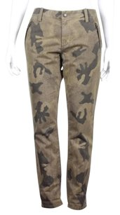 Other Joes Super Chic Womens Camo Casual Trousers Pants