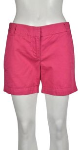 Other J Crew Chino Womens Solid Casual 0 Walking Shorts Pink