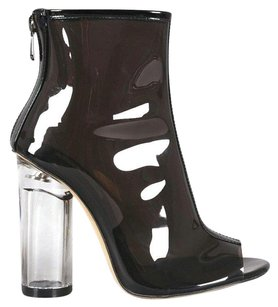 Other Clear Heel Perplex Jelly Jelly Acrylic Heel Black Boots